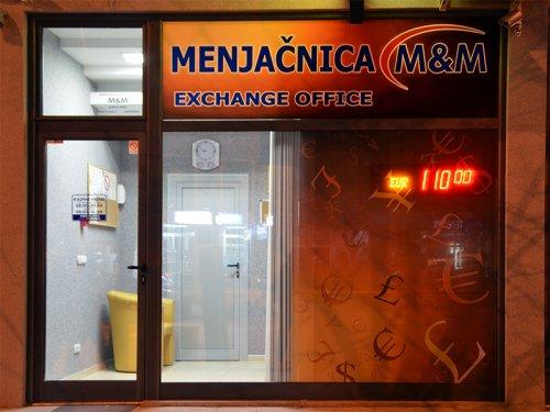 Menjačnica M&M